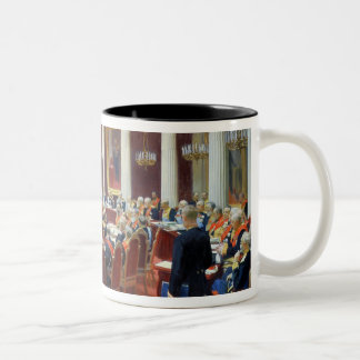 The Ceremonial Sitting of the State Council Two-Tone Mug