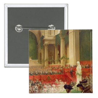 The Ceremony at the Pantheon 15 Cm Square Badge