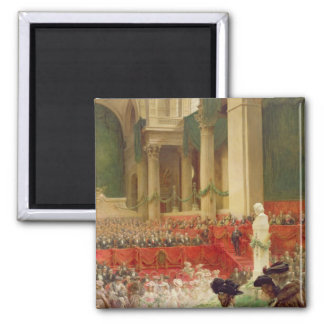 The Ceremony at the Pantheon Fridge Magnet