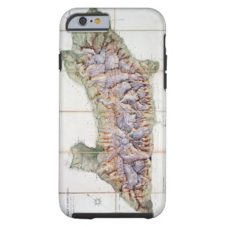 The Chain of Mont Blanc, from an actual survey in Tough iPhone 6 Case