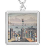 The Chain Pier on the front at Brighton Square Pendant Necklace