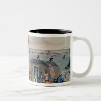 The Chain Pier on the front at Brighton Two-Tone Coffee Mug