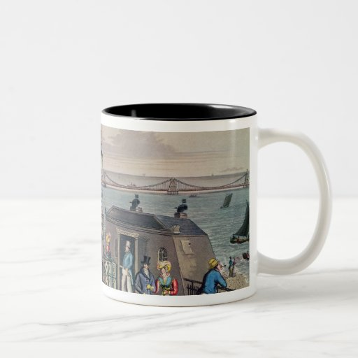 The Chain Pier on the front at Brighton Two-Tone Mug