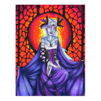The Chained Queen Postcard