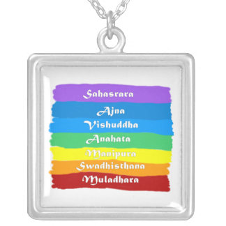 The Chakra Rainbow Silver Plated Necklace