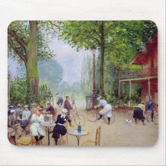 The Chalet du Cycle in the Bois de Boulogne Mouse Pad