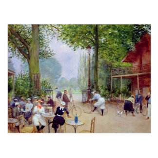 The Chalet du Cycle in the Bois de Boulogne Postcard