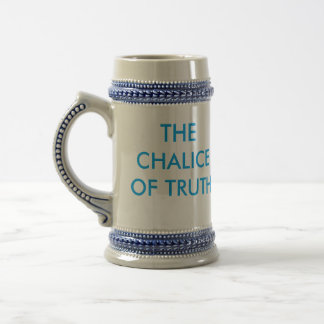 The Chalice of Truth 18 Oz Beer Stein