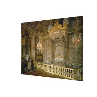 The Chambre de la Reine (Queen's Bedroom) (photo) Canvas Prints