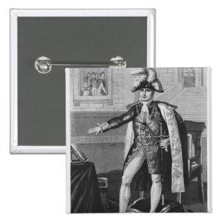 The 'Champ de Mai' or Emperor Napoleon I 15 Cm Square Badge
