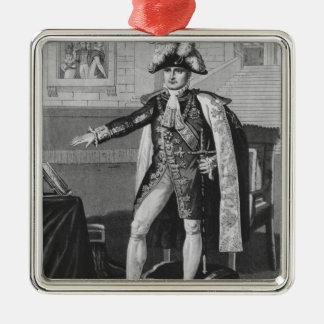 The 'Champ de Mai' or Emperor Napoleon I Silver-Colored Square Decoration