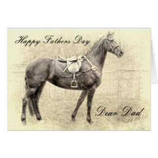 THE CHAMP FATHERS DAY GREETING CARD