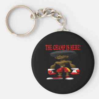 The Champ Is Here 2 Keychain