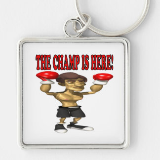 The Champ Is Here Keychain