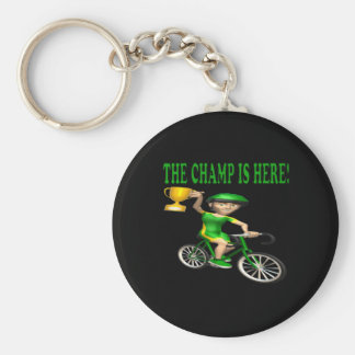 The Champ Is Here Key Chain