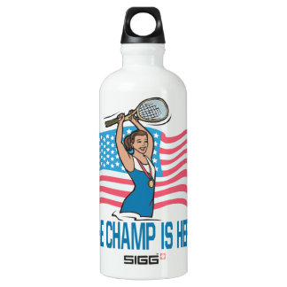 The Champ Is Here SIGG Traveller 0.6L Water Bottle
