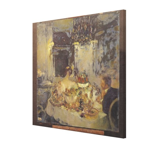 The Champagne Stretched Canvas Prints