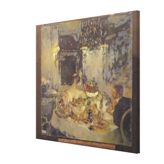 The Champagne Canvas Print