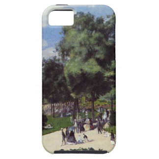 The Champs Elysees during the Paris Fair of 1867 iPhone 5 Cover