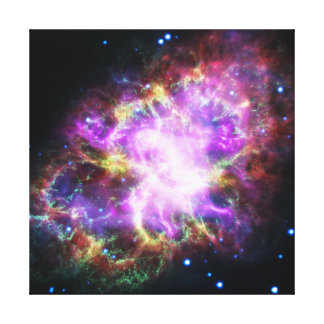 The Chandra X-ray in the Crab Nebula Canvas Print