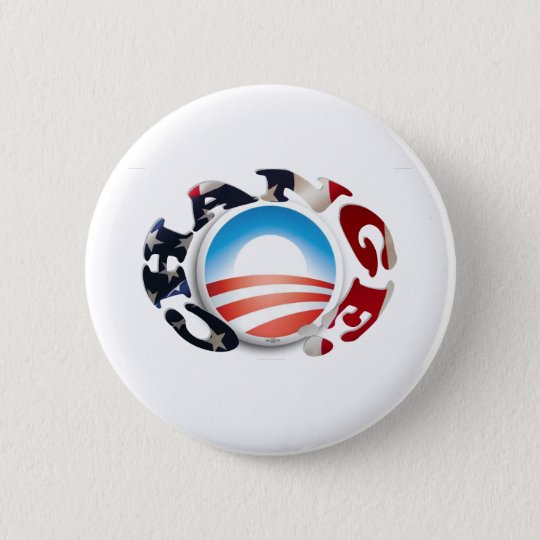 The Change We Need 6 Cm Round Badge