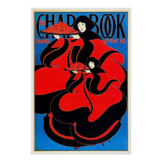 The Chap Book 1895 ~ Vintage Poster