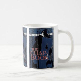 The Chap-Book ~ Blue Lady Basic White Mug