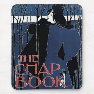 The Chap-Book ~ Blue Lady Mouse Pad
