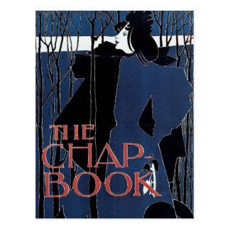 The Chap-Book ~ Blue Lady Postcard