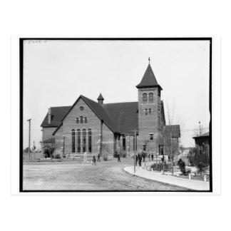 The chapel, Tuskegee Institute, Ala. c1906 Postcard