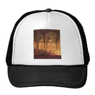 The Chapter House Salisburyby William Turner Hats