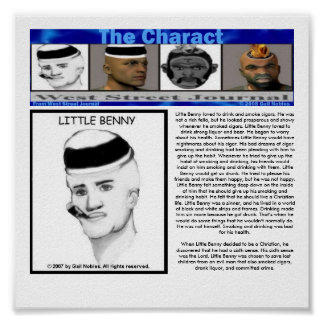 The Charact_Little Benny Poster