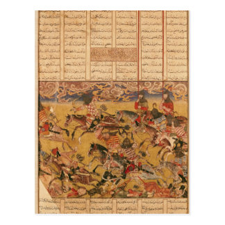 The Charge of the Cavaliers of Faramouz Postcard