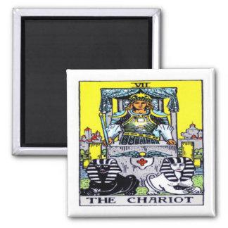 The Chariot Tarot Magnet