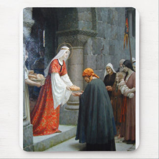 The Charity of St. Elizabeth of Hungary Mouse Mat