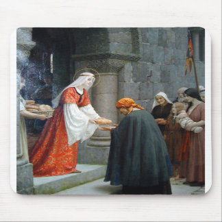 The Charity of St. Elizabeth of Hungary Mouse Pads