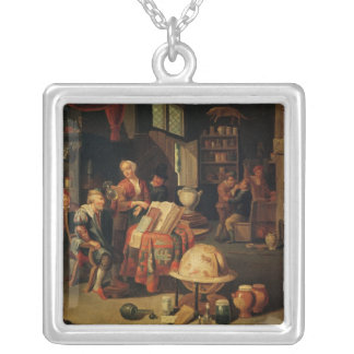 The Charlatan Silver Plated Necklace