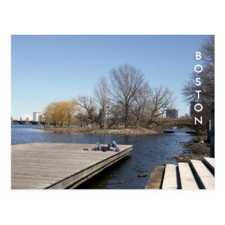 The Charles River Esplanade (colour) Postcard