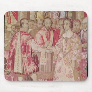 The Charles V Tapestry Mouse Mat