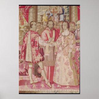 The Charles V Tapestry Poster