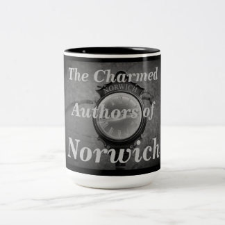The Charmed Authors of Norwich Two-Tone Coffee Mug