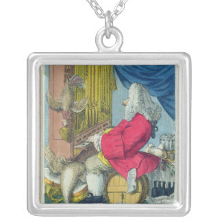 The Charming Brute Silver Plated Necklace