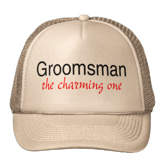 The Charming One (Groomsman) Cap