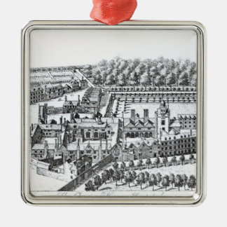 The Charterhouse Hospital, c.1720 Christmas Ornament