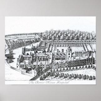 The Charterhouse Hospital, c.1720 Poster