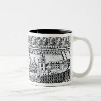 The Charterhouse Hospital, c.1720 Two-Tone Coffee Mug