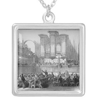 The Chartist Convention at Fitzroy Square Pendant