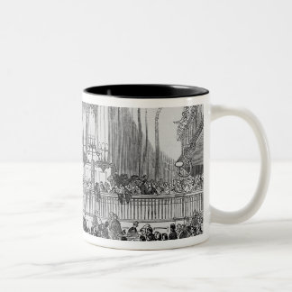 The Chartist Convention at Fitzroy Square Two-Tone Coffee Mug