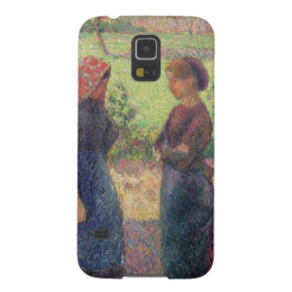 The Chat, c.1892 (oil on canvas) Galaxy S5 Cover