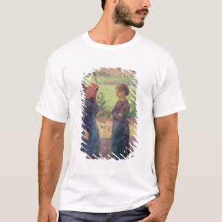 The Chat, c.1892 (oil on canvas) T-Shirt